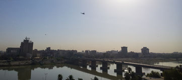Bagdade no nascer do sol fotos de stock