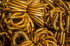 Bagel με τους σπόρους παπαρουνών Στοκ φωτογραφία με δικαίωμα ελεύθερης χρήσης