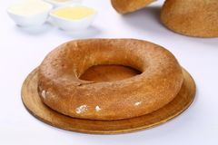 Bagel σίτου ψωμί στοκ φωτογραφία
