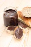 bagel σοκολάτα Στοκ Εικόνα