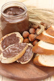 bagel σοκολάτα Στοκ φωτογραφίες με δικαίωμα ελεύθερης χρήσης