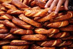 bagel Τούρκος Στοκ εικόνες με δικαίωμα ελεύθερης χρήσης