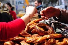 bagel Τούρκος Στοκ φωτογραφίες με δικαίωμα ελεύθερης χρήσης