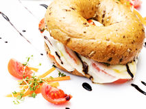 Bagel Royaltyfria Foton