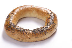 Bagel. (boublik) with poppy-seed stock images