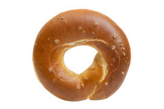 Bagel against white background Royalty Free Stock Image