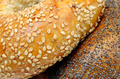Bagel Background Stock Images