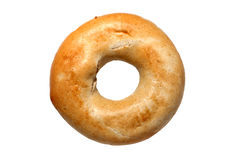 Bagel. Bread roll isolated on a white background stock photos