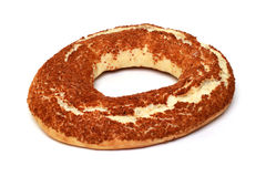 Bagel clipping path Stock Image