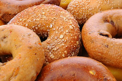 Free Bagel Closeup Royalty Free Stock Photos - 31312648