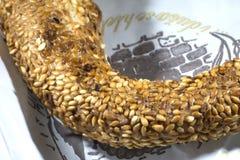 Bagel do peru - simit Imagem de Stock