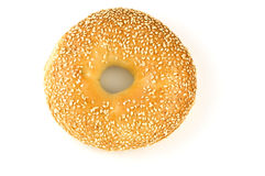 Bagel do sésamo Fotografia de Stock Royalty Free