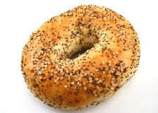 bagel everything Zdjęcia Royalty Free