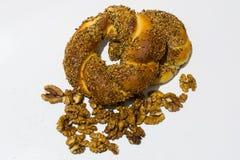 bagel fasta food sposobu rkish s simit t turkish Zdjęcia Royalty Free
