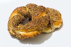 bagel fasta food sposobu rkish s simit t turkish Fotografia Royalty Free