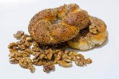 bagel fasta food sposobu rkish s simit t turkish Obrazy Stock