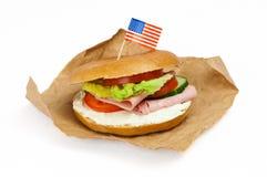 bagel New York Стоковые Изображения RF