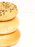 Bagel pile Royalty Free Stock Images
