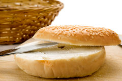 Bagel Plain Royalty Free Stock Photography