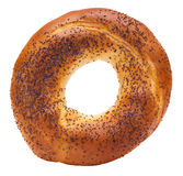 Bagel with poppy seed Stock Photo