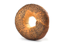 Bagel with poppy seeds Royalty Free Stock Photography
