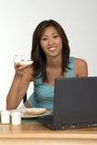 Bagel pour le déjeuner Image stock