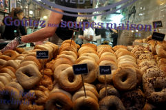 Bagel Shop Royalty Free Stock Photo