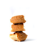 Bagel or  simit Royalty Free Stock Photography