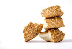Bagel or  simit Royalty Free Stock Images