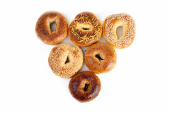 Bagel Triangle Stock Photography