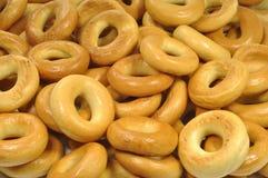 bagels πολλά Στοκ Εικόνα
