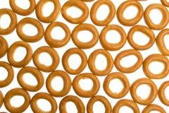 bagels πολύ λευκό Στοκ Εικόνες