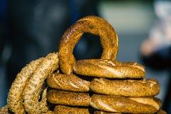 Bagels σουσαμιού στοκ φωτογραφία με δικαίωμα ελεύθερης χρήσης