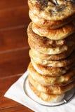 bagels σωρός Στοκ Φωτογραφία
