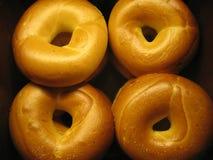 bagels τέσσερα Στοκ εικόνα με δικαίωμα ελεύθερης χρήσης