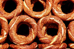 bagels Τούρκος Στοκ Εικόνες