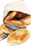 bagels φρέσκα Στοκ εικόνα με δικαίωμα ελεύθερης χρήσης