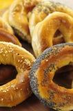 bagels φρέσκα Στοκ εικόνες με δικαίωμα ελεύθερης χρήσης