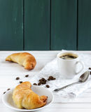 Bagels. For breakfast with coffee stock photo