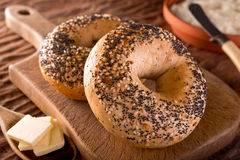 Bagels photo libre de droits