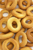 Bagels. Ring bagels as a background Stock Photography