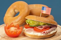 Bagels photo stock