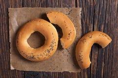 Bagels avec des clous de girofle Image stock