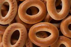 Bagels background. Bagels close up as background Royalty Free Stock Photo
