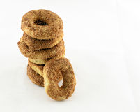 Bagels for breakfast Stock Image