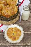 Bagels com queijo Imagem de Stock Royalty Free