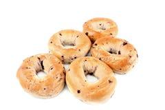 bagels czarna jagoda Zdjęcie Royalty Free