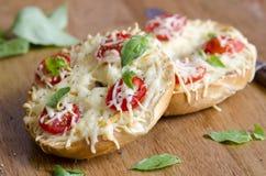 Bagels de fromage Photo libre de droits
