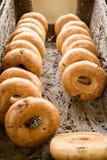 Bagels de Rye Fotos de Stock
