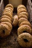 Bagels de Rye Imagens de Stock Royalty Free